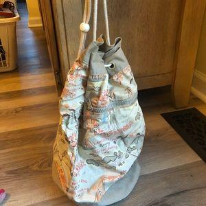 Handbags - Hawaiian print drawstring bag